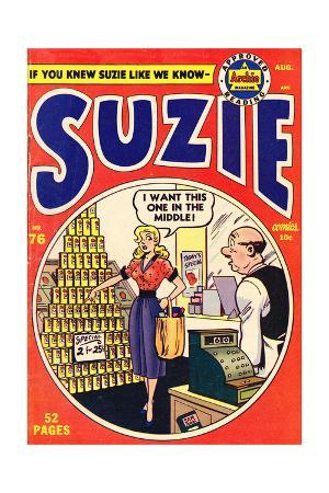 Archie Comics Retro: Suzie Comic Book Cover No.76 (Aged)