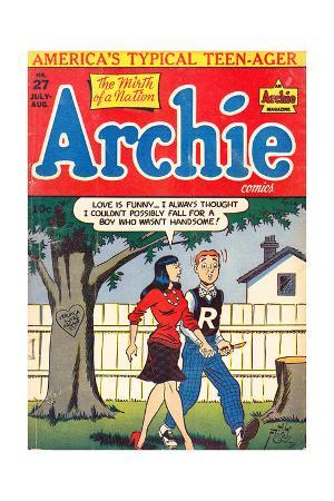 Archie Comics Retro: Archie Comic Book Cover No.27 (Aged)