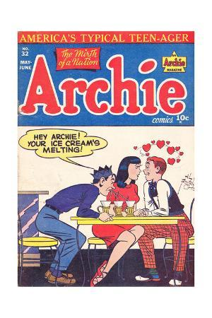Archie Comics Retro: Archie Comic Book Cover No.32 (Aged)