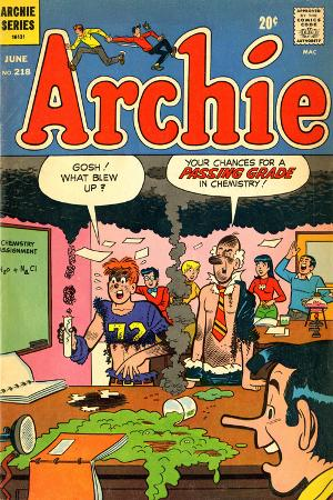 Archie Comics Retro: Archie Comic Book Cover No.218 (Aged)