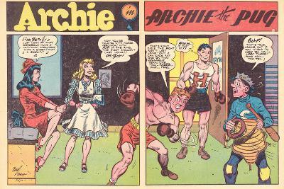 Archie Comics Retro: Archie Comic Spread Archie The Pug (Aged)