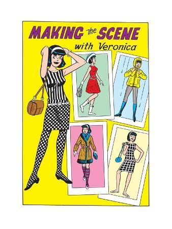 Archie Comics Fashions: Making The Scene With Veronica