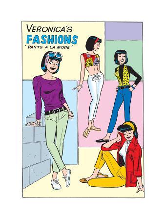 Archie Comics Fashions: Veronica's Fashions Pants A La Mode