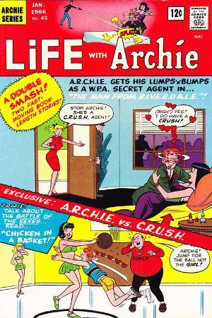 Archie Comics Retro: Life with Archie Comic Book Cover No.45 (Aged)