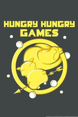 Hungry Hungry Games Snorg Tees Poster