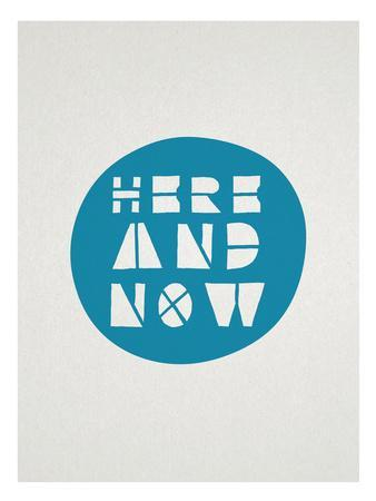 Here And Now Affirmation Dot
