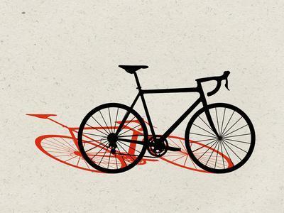 Road Bike Pop Art