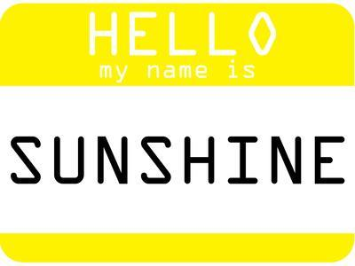 My Name Is Sunshine