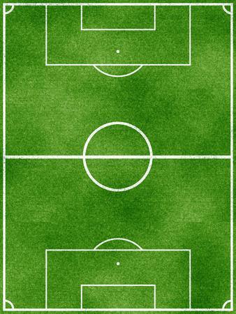Soccer Field Sports Poster Print