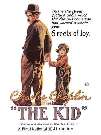 The Kid Movie Charlie Chaplin Poster Print