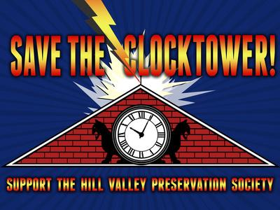 Save the Clocktower Movie Poster