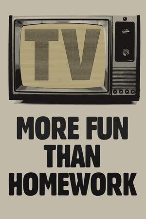 TV More Fun Than Homework