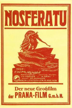 Nosferatu Movie Max Schreck 1922 Poster Print