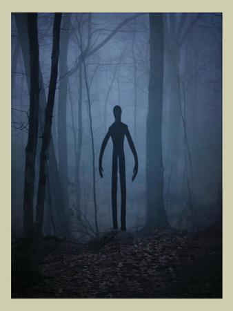Slender Man In Woods