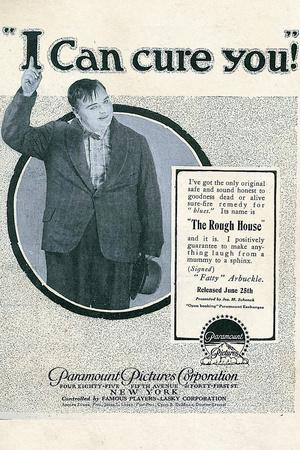 The Rough House Movie Fatty Arbukle Buster Keaton Poster Print