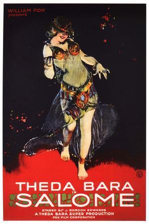 Salome, Theda Bara Poster