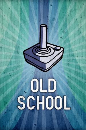 Old School Video Game Poster Print