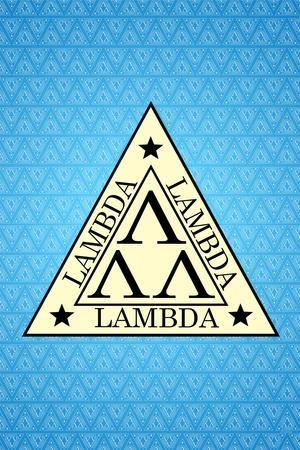 Revenge of the Nerds ?Movie Lambda Lambda Lambda Poster Print