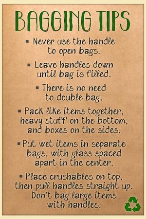 Bagging Tips