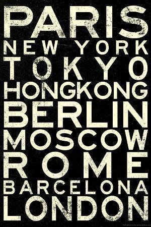 Cities of the World Retro Metro Travel
