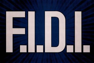 F.I.D.I. F-ck It Do It Blue Poster