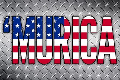 'Murica Patriotic Poster