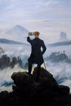 Wanderer Selfie Portrait