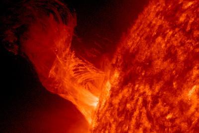 Solar Eruption NASA