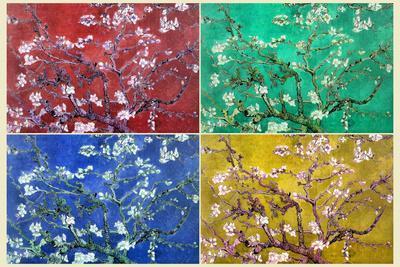 Vincent Van Gogh Almond Branches Pop