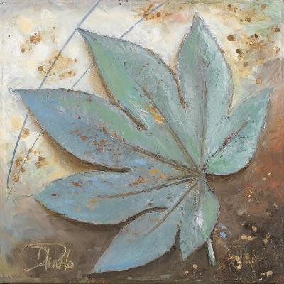 Turquoise Leaf I