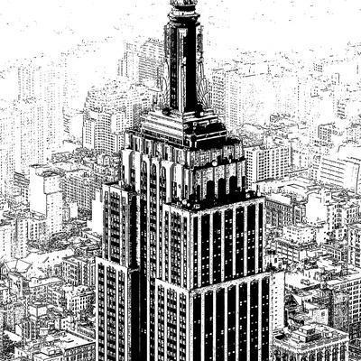 Empire State Sketch