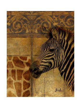 Elegant Safari I (Zebra)