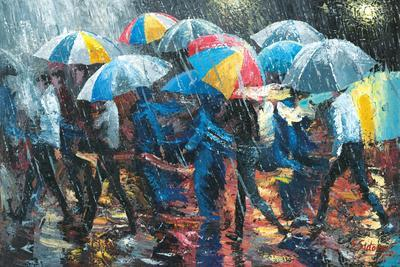Promenade in Rain