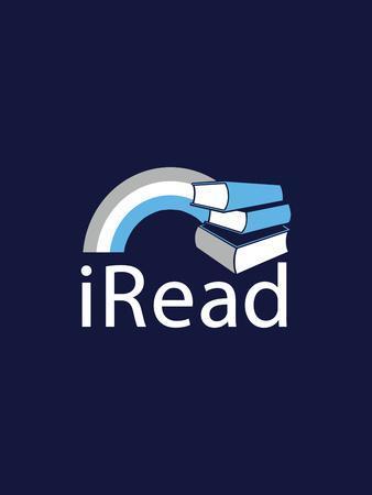 I Read - Nerdy Book Slogan