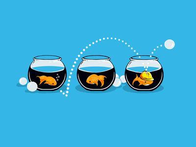 Prepared Fish - Funny GoldFish