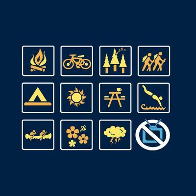 Nature - Outdoor Icons