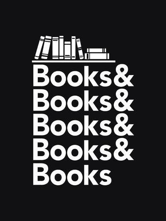 Books - Book Nerd Helvetica Typography