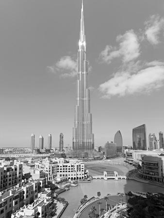 The Burj Khalifa, Completed in 2010, the Tallest Man Made Structure in the World, Dubai, Uae