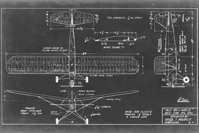 Aeronautic Blueprint VIII