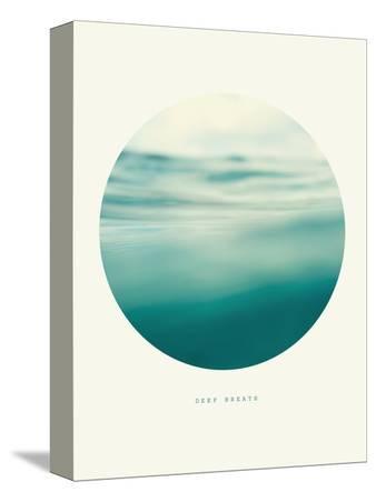Inspirational Circle Design - Rolling Water: Deep Breath