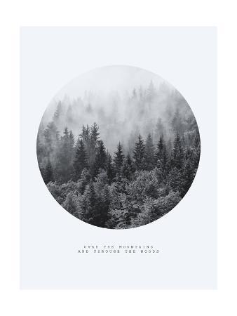 Inspirational Circle Design: Over the Mountains and Through the Woods