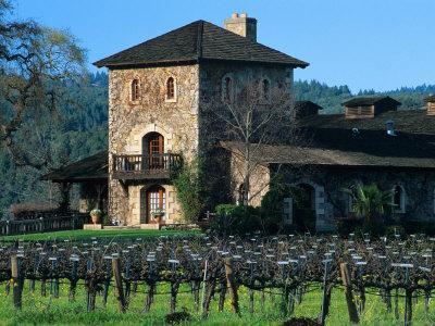 V Sattui Winery and Vineyard in St. Helena, Napa Valley Wine Country, California, USA