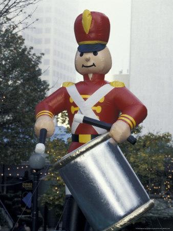 Nutcracker during Holiday Parade, Seattle, Washington, USA