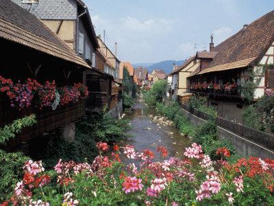 Colmar, Route du Vin, Alsace, France