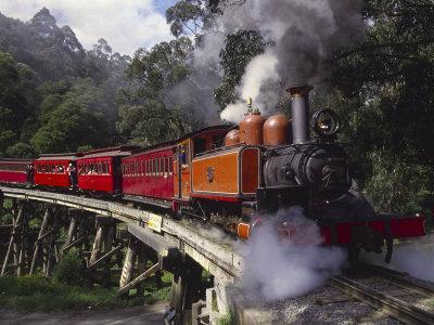 Puffing Billy Train, Mt. Dandenong, Australia