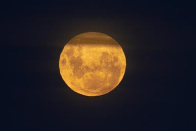 Full Supermoon, Lunar Perigee (Moons Closest Point to the Earth), New Zealand