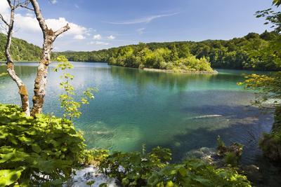 Lake Kozjak, Plitvice Lakes in the National Park Plitvicka Jezera, Croatia