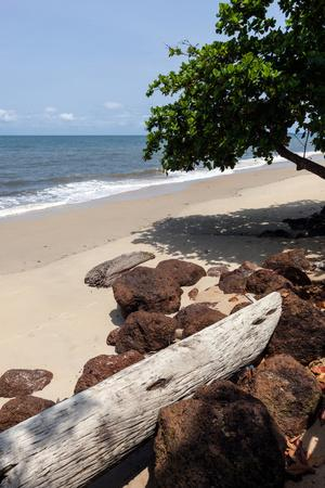 View of the Ocean on the Gulf of Guinea, Libreville, Gabon