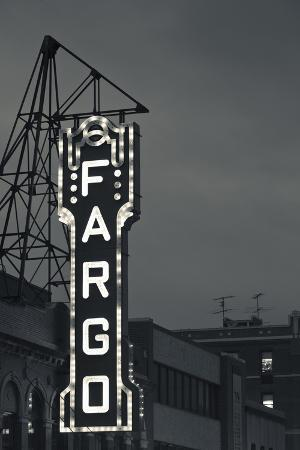 Fargo Theater Sign, Fargo, North Dakota, USA