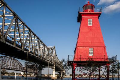 Southwest Reef Lighthouse, Atchafalaya Basin, Louisiana, USA